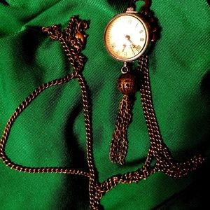 Jewelry - Clock and Gear Steampunk Statement Necklace